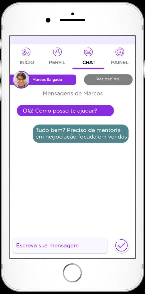 tela do app de People Analytics
