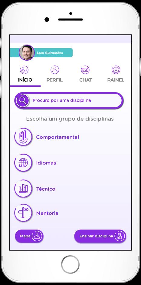 tela do app de Complementaridade