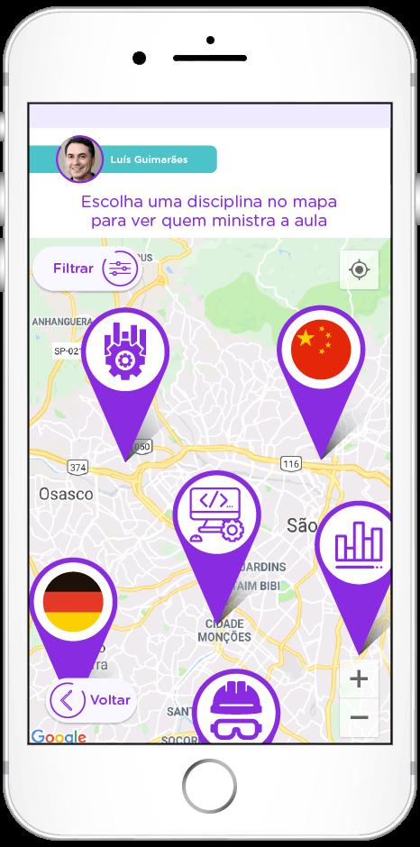 tela do app de Retenção de talentos